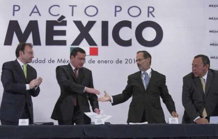 Pacto por México una oportunidad. Ojalá la aprovechen
