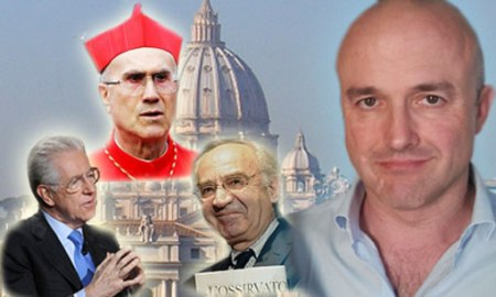 """Guianluigi Nizzi autor de """"Sua Santitá, Le carte segrete di Benedetto XVI"""" que ha mostrado antagonismo y divisiones en el seno de la curia romana"""