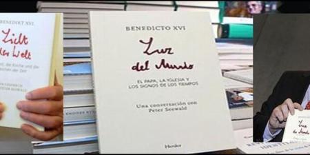 Libro Luz del Mundo 2010, clave para entender la renuncia de Benedicto XVI