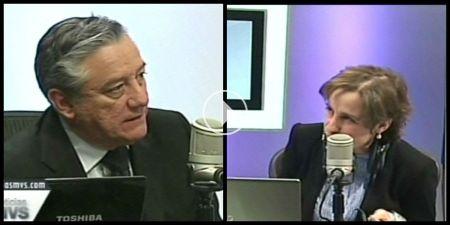 Carmen Aristegui y Bernardo Barranco
