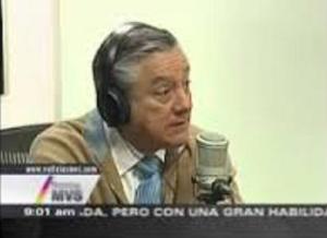 Bernardo Barranco con Carmen Aristegui