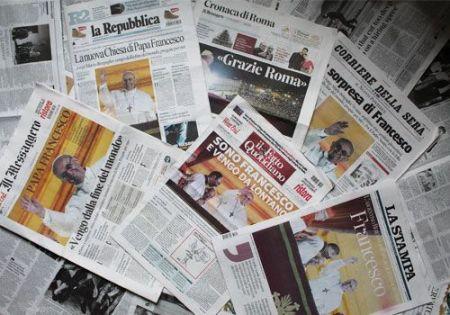Sorpresa en la prensa italiana