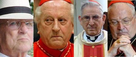 Los cardenales de la curia Rodé, Castrillón y Sodano cómplices de Maciel