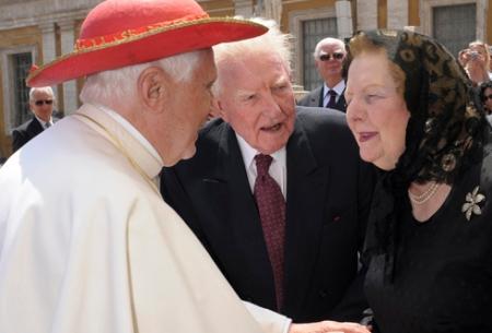 Thatcher se opuso a mezclar la política con la religión y defendió la clara separación entre Estado e Iglesia
