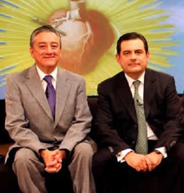Bernardo Barranco y Roberto Blancarte en el programa Discutamos México