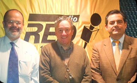 Con Rubén Ruiz, Roberto Blancarte y Bernardo Barranco fundadores, entre otros,  del CEREM
