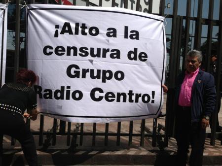 Ciudadanos como Mauro Granjas,  manifestaron el derecho de las audiencias