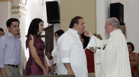 """""""Las religiones alivian crisis de valores y unen al pueblo y las instituciones"""": Duarte, gobernador de Veracruz"""