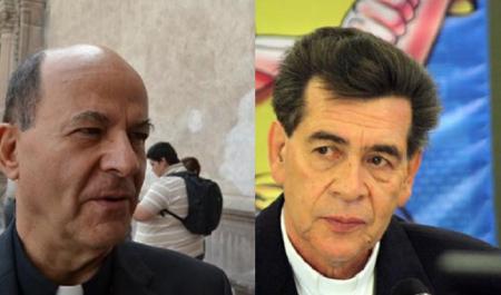 Constancio Miranda Weckmann y el obispo  de Tarahumara, Rafael Sandoval Sandoval acusados por Javier Corral de haber violado el Estado laico