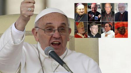 Francisco nombró ocho cardenales para restructurar la curia y se reunirán en octubre próximo