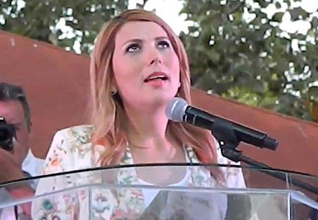 Alcaldesa Margarita Arellano