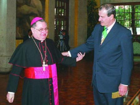 Guisepe Bertello suena fuerte para Secretario de Estado. Fue nuncio en México durante el gobierno de Vicente Fox