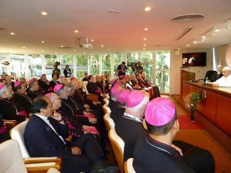 El Papa ante los obispos del CELAM tuvo un diagnóstico muy severo sobre la Iglesia en América Latina