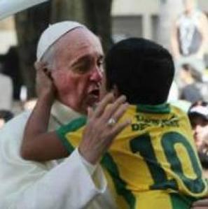 El Papa Francisco contagió al pueblo Brasileño
