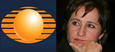 Televisa obsesionada con Carmen Aristegui