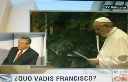 Francisco su fuerza no está en la Curia ni en la estructura de Roma sino en su enorme popularidad y en las esperanzas de cambios