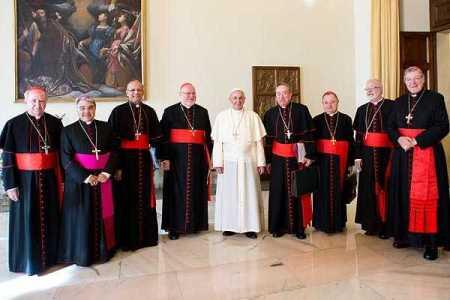 El llamado grupo G-8, es una nueva estructura creada por Francisco para reformar la curia y formas de gobierno de la Iglesia católica