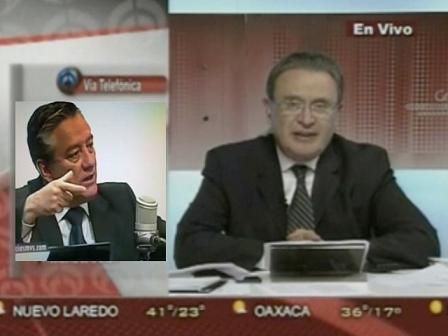 Ricardo Rocha con Bernardo Barranco