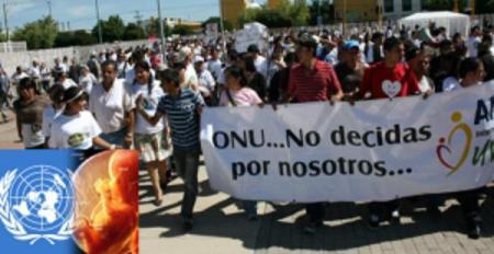 Los católicos ultraconservadores inician una nueva cruzada contra la ONU