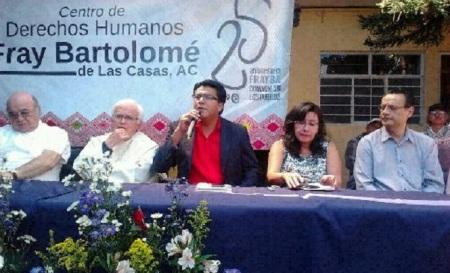 Evento de clausura. Estuvieron presentes entre otros Raúl Vera y Gonzálo Ituarte