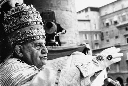 Juan XXIII el Papa bueno, el Papa del Concilio