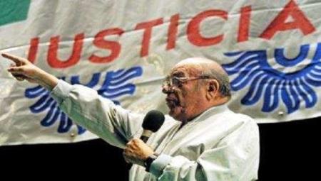 El Obispo Samuel Ruiz (1924-2011),  estuvo presente y muy recordado en este aniversario 25 del Frayba