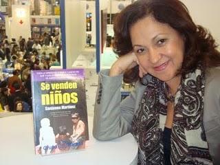 """Sanjuana Martínez, publicó un estrujante libro """"SE venden niños"""" en el que desnuda el modus operandi e la Iglesia, sus albergues  y responsables"""