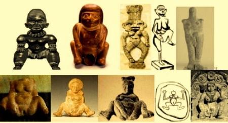 En las etapas más arcaicas la fecundidad de la tierra y de la mujer eran sagradas