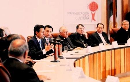 Duras preguntas de los obispos ante las reformas del presidente Peña Nieto