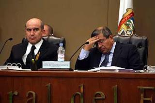 Jesus  Castillo presidencia débil y sufrida e el IEEM