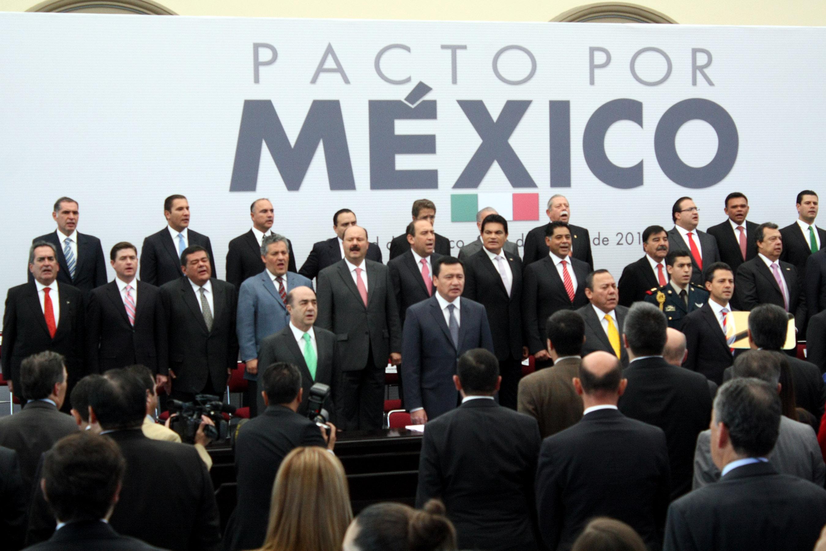 Pacto por m xico origen de l reforma pol tica y la creaci n del ine