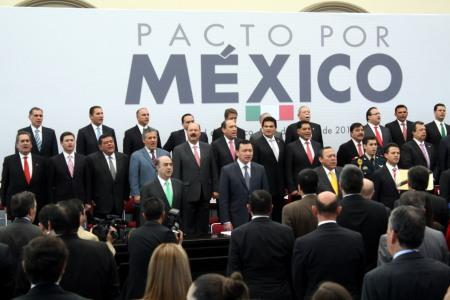 Pacto por México origen de l Reforma Política y la creación del INE