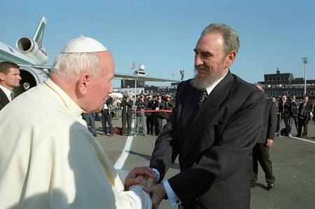 Visita histórica de Juan Pablo II a Cuba en 1998