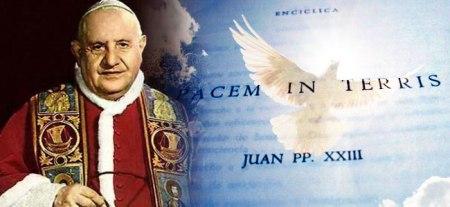Juan XXIII medió en la crisis de misiles en 1962 y redactó su famosa encíclica Pacem in Terris