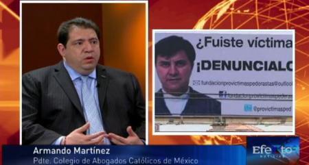 Armando Martínez presidente del colegio de abogados católicos