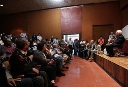 Raúl Vera ha dialogado con organizaciones sociales, actores y ciudadanos con diversas especialidades para elaborar una nueva propuesta constitucional