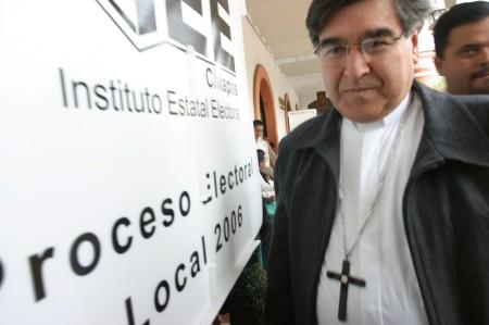 Mons. Felipe Arizmendi obispo de San Cristóbal de las Casas, Chiapas