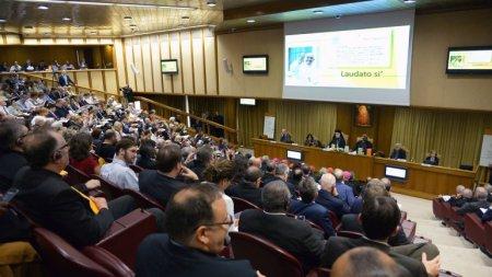 Aula Nueva del Sínodo, 18 de junio presentación encíclica Laudato Si