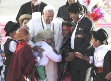 Reconciliar la jerarquía con el gobierno de Evo Morales