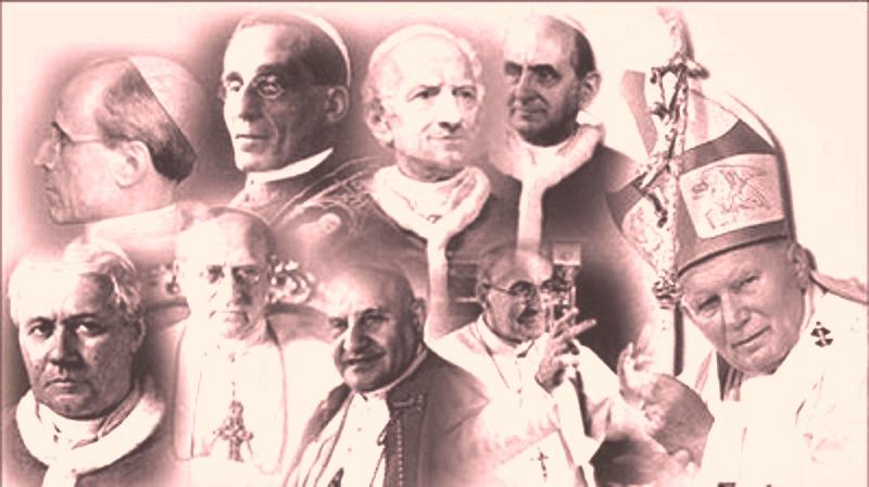 La doctrina social de la Iglesia es un corpus que ha sido conformado en continuidad por diferentes pontífices