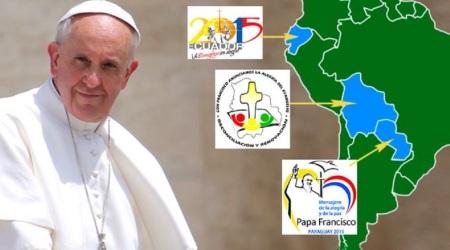 Segunda visita de Francisco a Latinoamérica del 5 al 12 de julio de 2015