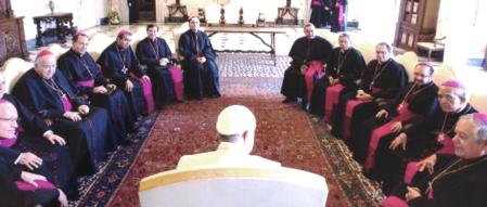 Obispos mexicanos lentos frente a las reformas que propone Francisco
