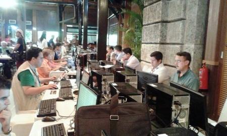 Centro de Prensa en La Habana