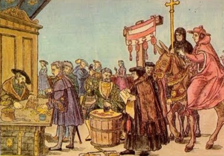 La venta de Indulgencia que Martín Lutero combatió en el Siglo XVI
