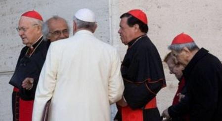 Norberto Rivera Papa Francisco, diferencias