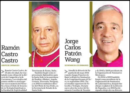 Cambios significativos en el episcopado mexicano