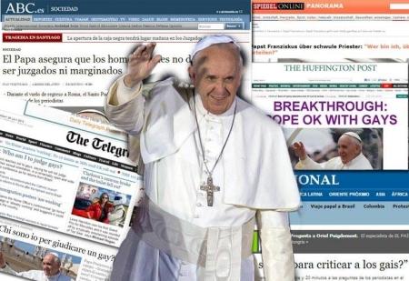 Francisco bajo el carisma de la sencillez se ha convertido en un líder con alto grado de aceptación mundial