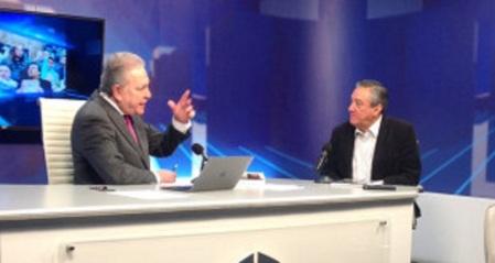 Bernardo Con José Cárdenas en radio Fórmula